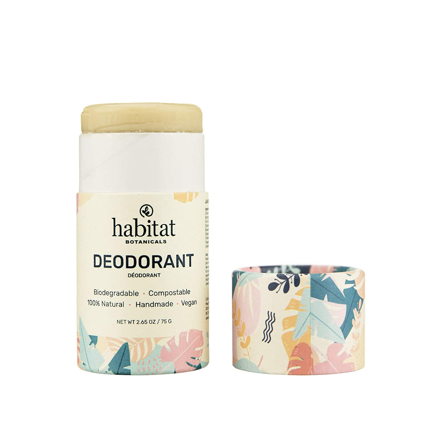 Habitat 67% Same day shipping OFF of fixed price Botanicals: Natural Deodorant for and - Plant Women Men