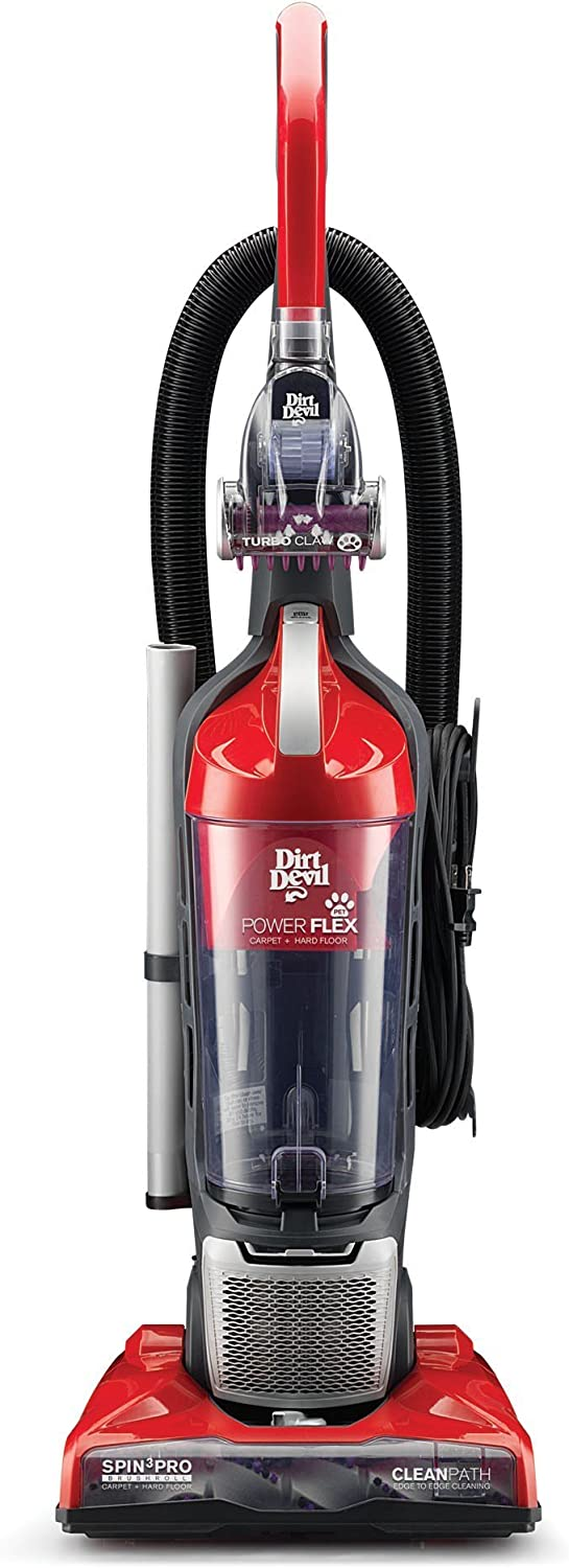 Hoover Power Flex Pet Upright, Red