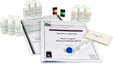 Thin Layer Chromatography Kit: Separating Chemical Substances (Materials for 15 Groups of Students)