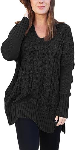 Nuevo Nuevo Con Etiquetas Negro Jr Mediano 5//7 Vestido Acanalado Elástico Casual O Cuello De Tortuga Suéter