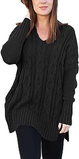 Best black v neck knit sweater Reviews