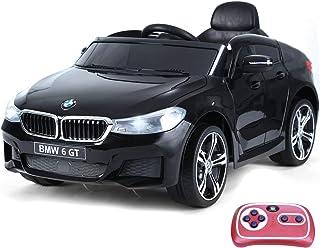 HOMCOM Compatible con Coche Eléctrico para Niño Automóvil Infantil 3-8 Años con Control Remoto Batería 6V Luces y Sonidos ...