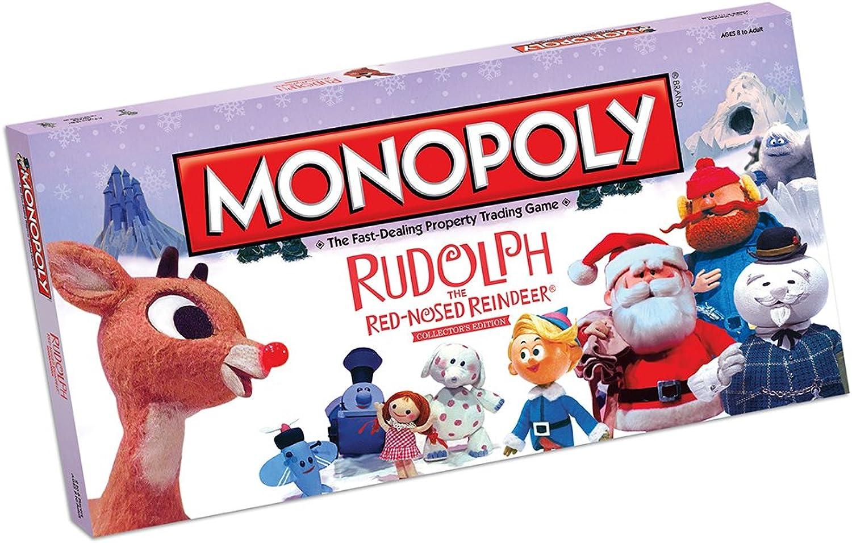 para mayoristas Rudolph Rudolph Rudolph the rojo Nosed Reindeer Monopoly Board Juego  Rudolph the rojo Nosed Reindeer Monopoly  la mejor oferta de tienda online