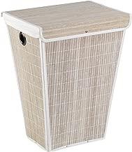 Wenko 18196100 Papierkorb Bamboo naturfarben /Ø 24 x 30 cm Bambus