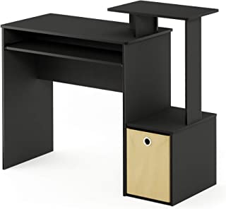 Furinno Econ Multipurpose Home Office Computer Writing Desk, Black/Brown