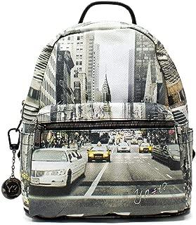 Luxury Fashion   Ynot? Womens 380F0GREY Grey Backpack   Fall Winter 19