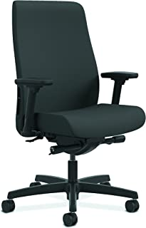 HON HONLWU2ACU19 Endorse Mid-Back Task Chair with Lumbar Support, in Iron Ore (HLWU), Upholstered