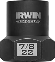 "Irwin Tools 53916 Accessories, Impact Bolt Grip 7/8""/22mm 1/2 Dr"