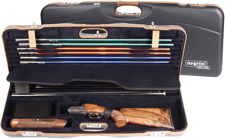 Negrini OU Deluxe High Rib Skeet 2 Barrel Shotgun Case + Tube Set  1652LXTUBE 5212