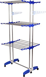 Mega Stand: Mega Stainless Steel, Multi Layer Cloth Drying Stand