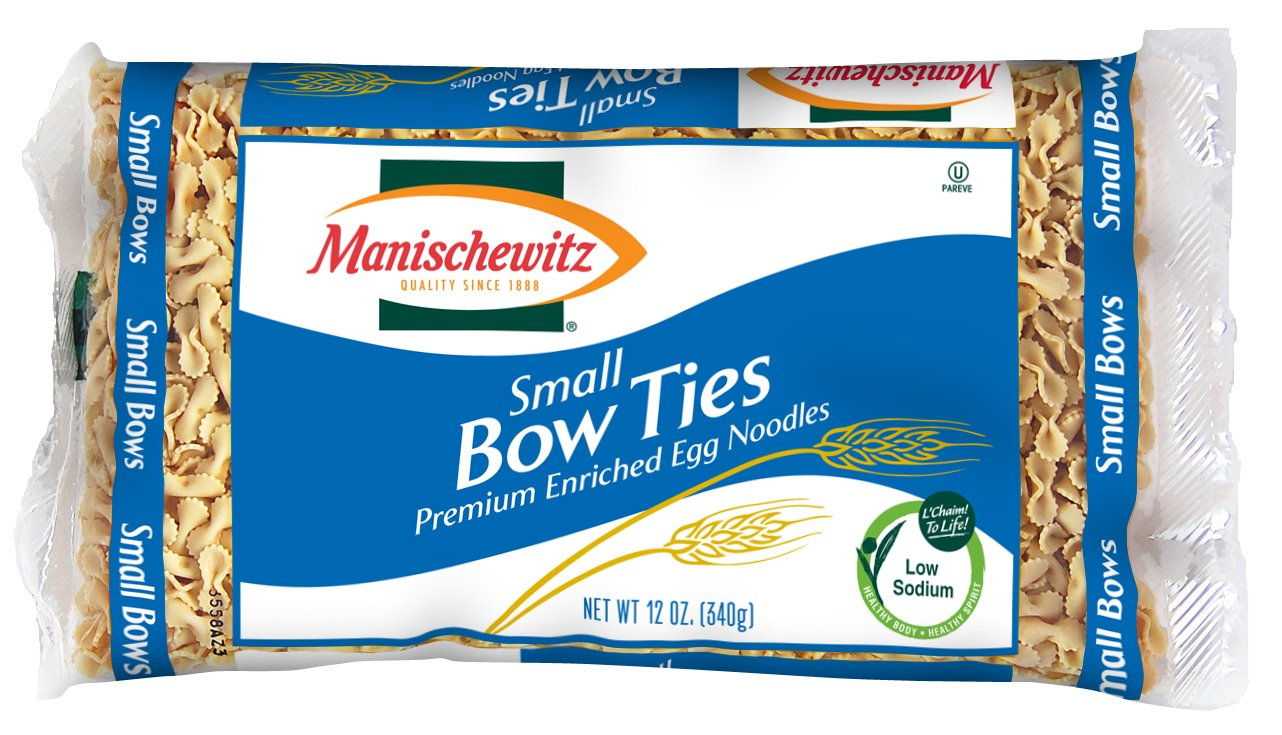 MANISCHEWITZ Small Bow Free shipping anywhere in the nation Ties 12-Ounce of Omaha Mall Pack 12 Bags