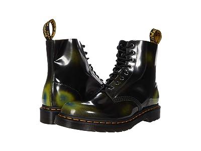 Dr. Martens 1460 Pascal Arcadia (Black/Marsh Green) Shoes