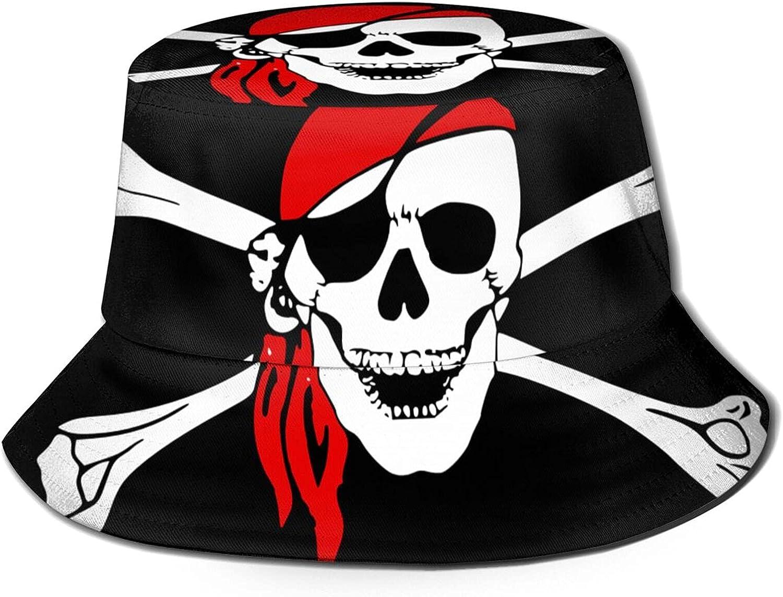 Pirates Skull Bucket 2021 Manufacturer OFFicial shop new Hat Unisex Packable Summer Fisherma Sun