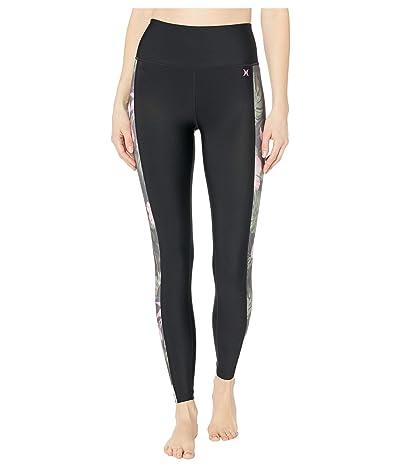 Hurley Lanai Hybrid Leggings (Anthracite) Women