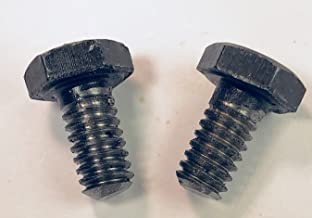 Serval Products 1/4-20 X 1/2 Left Hand (Reverse) Thread Hex Bolt Grade 8 (Pkg of 2)