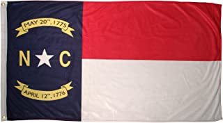 Online Stores North Carolina Superknit Polyester Flag, 3 by 5-Feet