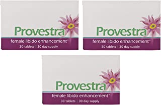 Thansita Provestra Female Libido Multiple Orgasm strengthening Enhancement (30 Tablets) Pack 3