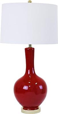 Amazon.com: Abadía de Robert Uno Luz Lámpara de mesa cm980 ...