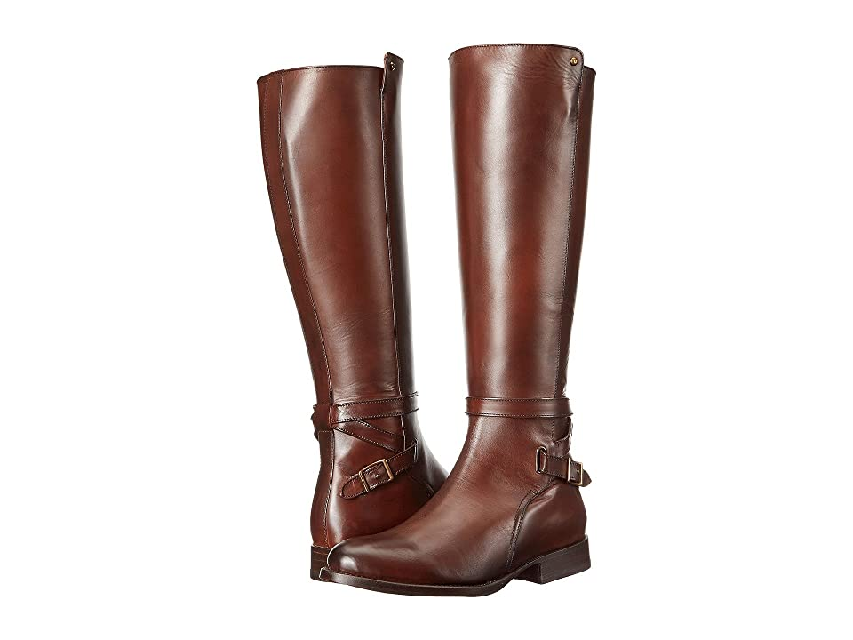 Frye Jordan Strap Tall (Whiskey Smooth Veg Calf) Women