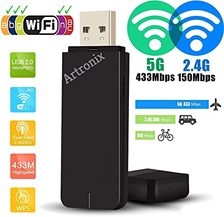 Dual Band 5G 2.4G 600Mbps WiFi USB Dongle Stick Adapter for Mag322w1 MAG 250 254 256 322