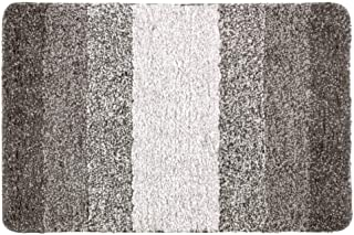 Grafit Farbe Schwarz Bademayer Frottier Badematte 48 x 80 cm Duschvorleger Fu/ßmatte aus 100/% Gek/ämmter Baumwolle saugstark und absolut fusselfrei 1200 g//m/² extra dicht Premium-Qualit/ät
