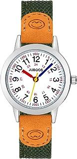 Reloj analógico de Cuarzo para niños y niñas, con Reloj de Pulsera de Caucho, Resistente al Agua, para Deportes al Aire Libre