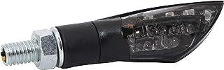 ShinYo Motorrad Blinker E geprüft LED Blinkerpaar Kite M8 schwarz, getöntes Glas