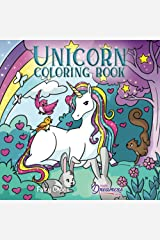 Unicorn Coloring Book: For Kids Ages 4-8 Paperback