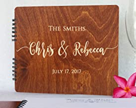 Wooden Wedding Guest Books Personalized (11