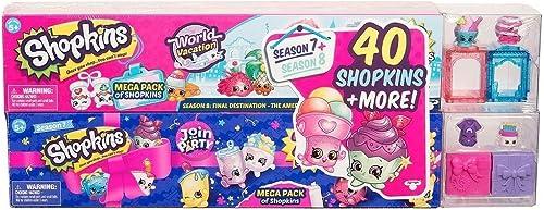 Moose Shopkins Mega World Pack Vacances & Party  Rejoignez la Saison 7 + Saison 8