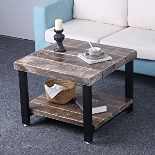 Best industrial coffee and end table sets Reviews