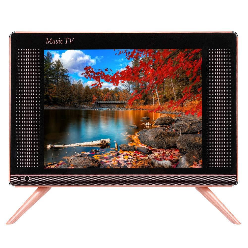 Vbestlife TV LCD HD DVB-T2, TV Digital portátil de 17 Sonido de Graves, Mini TV Digital 16: 9 con Control Remoto para automóvil/hogar/Dormitorio. Admite HDMI/USB/VGA.(EU): Amazon.es: Electrónica