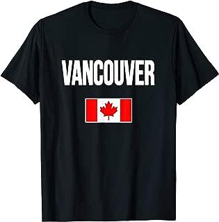 Vancouver T-shirt Canada Souvenir Travel Vacation Tour