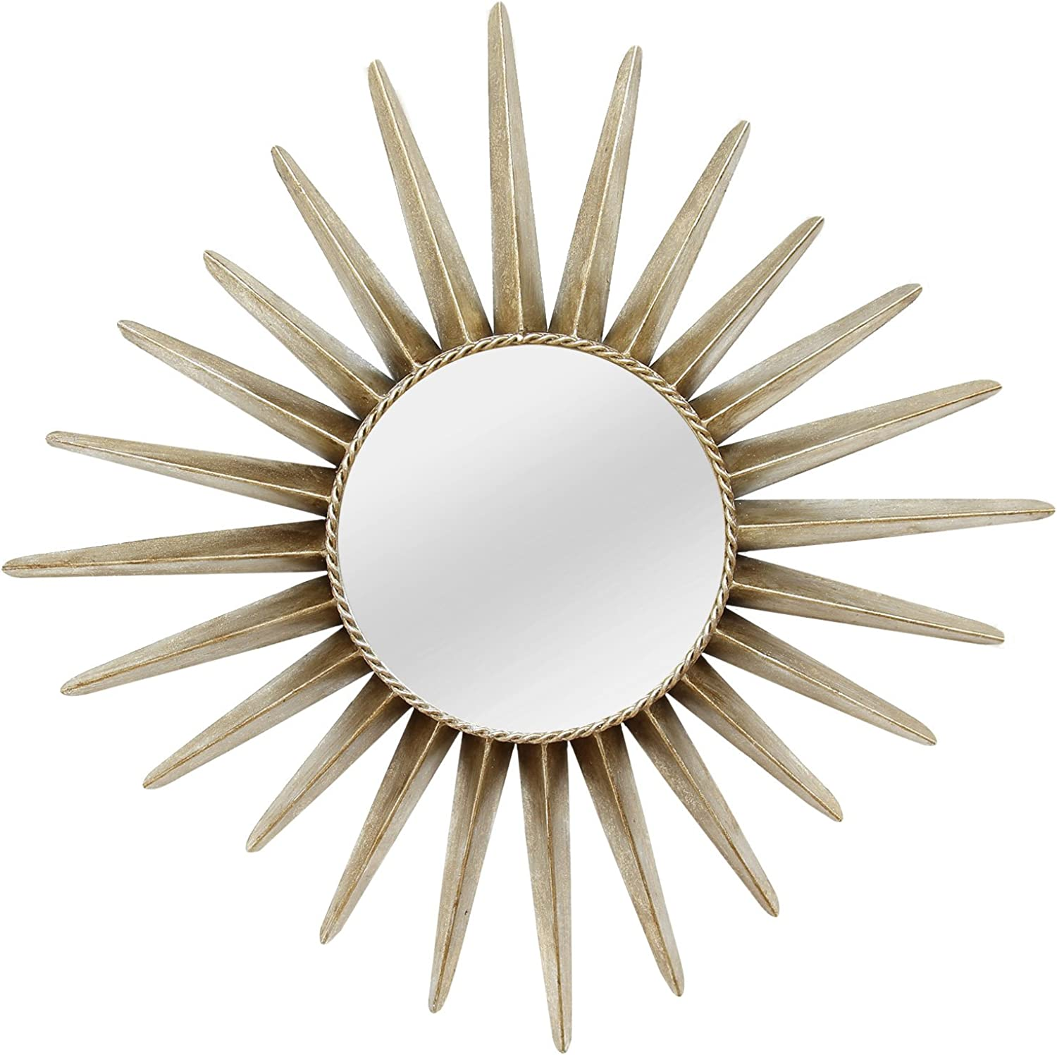 Stratton Home Décor SHD0163 Charlotte Wall Mirror