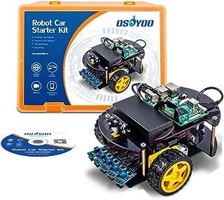 OSOYOO Robot Car Kit Smart Car Learning Kit for Raspberry Pi 3B, B+,Zero W   Android/iOS APP   Web Camera 1280x720 One Megapiexl WiFi Wireless