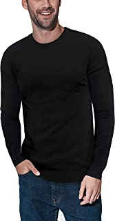 Sponsored Ad - XRAY Crewneck Sweater for Men Slim Fit Ultra Soft Fitted Fashion Pullover Mens Sweater for Casual Or Dressy...