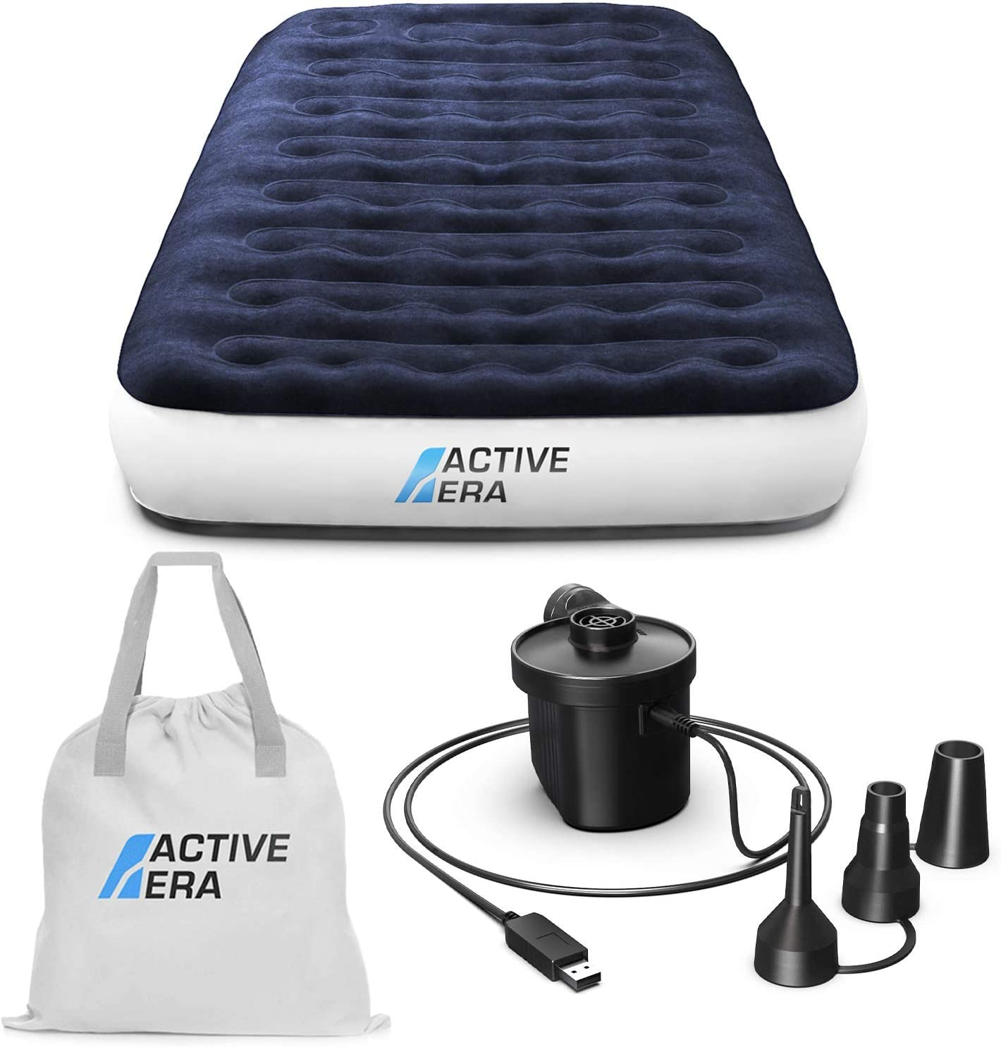 Active Era Luxury Camping Air Mattress Built Special price for a limited time Pump with Twin cheap - in