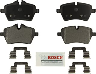Bosch BE1204H Blue Disc Brake Pad Set with Hardware For Select Mini Cooper, Countryman, and Paceman Vehicles - FRONT