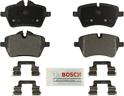 Bosch BE1204H Blue Disc Brake Pad Set with Hardware