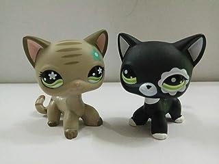 Pet Shop 2pcs Littlest Collection LPS Short Hair Standing Cat