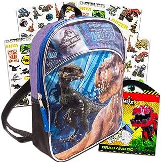Jurassic World Dinosaur Mini Backpack Set -- Deluxe 11
