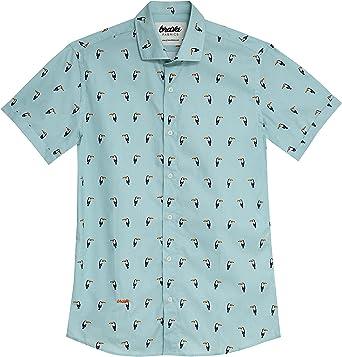Brava Fabrics Camisa Estampada Tropical Tucan - Algodón Orgánico