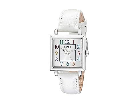 TIMEX Elevated Classics, Silver/White