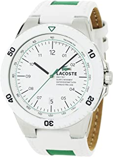 Lacoste Men's 2010563 Toronto White Resin Bezel and Dial Watch
