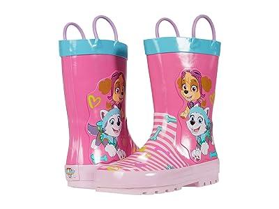 Josmo Kids Paw Patrol Rain Boot (Toddler/Little Kid) (Pink Aqua) Girl