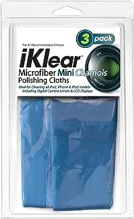 iKlear Travel Size Optical Grade Microfiber Cloths (iK-3Mini)