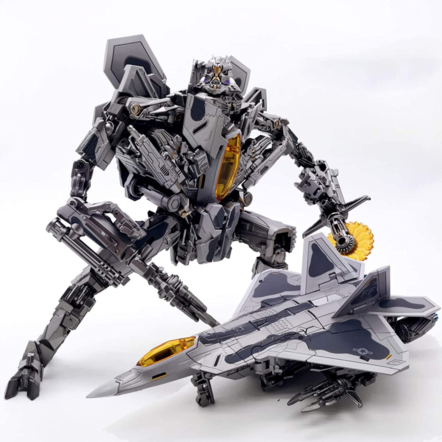 Transformer Movie 5 Star Ancestral LS04 Red Spider SS Zoom Plane PVC Action Figure Model Robot Toys