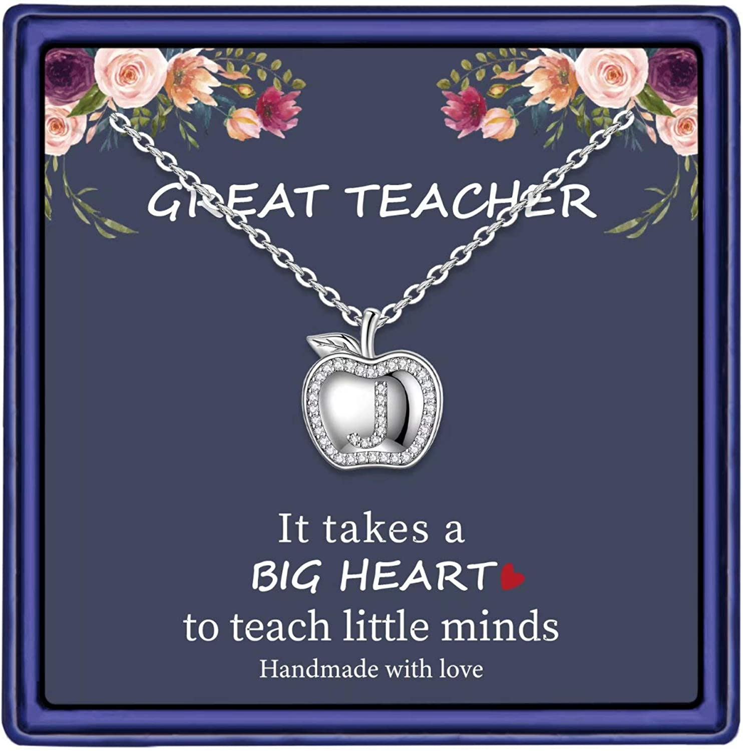 MONOOC Teacher Gifts Bombing free shipping for Women Necklace Plated Gold D gift White 14K