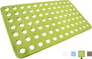 ALL PRIDE Bathtub and Shower Mat, Non Slip, Machine Washable, Perfect Bath Mat for Tub and Shower for Kids and Elderly, 27 x15 Inch, Green