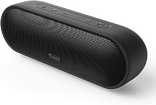 Tribit MaxSound Plus - Altavoz Bluetooth, 24 W, con Potente Sonido, XBass, protección IPX7 Resistente al Agua, 20 Horas, Alcance del Bluetooth de 30 m para Fiestas, Viajes, Aire Libre, Color Negro